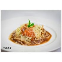 沙茶肉醬鐵板麵(共5份)